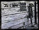 """Je'taime-Woodcut by Belinda """"BillyLee"""" NYE (Printmaker)"""