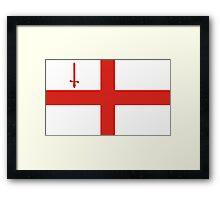 london flag Framed Print