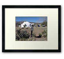 Le Abode Framed Print