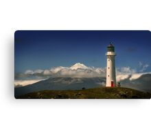 Between the Ocean Roar and Snow Capped Volcano, Mementoes Of Canvas Print