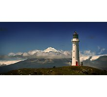 Between the Ocean Roar and Snow Capped Volcano, Mementoes Of Photographic Print