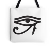 Eye of Horus White Tote Bag