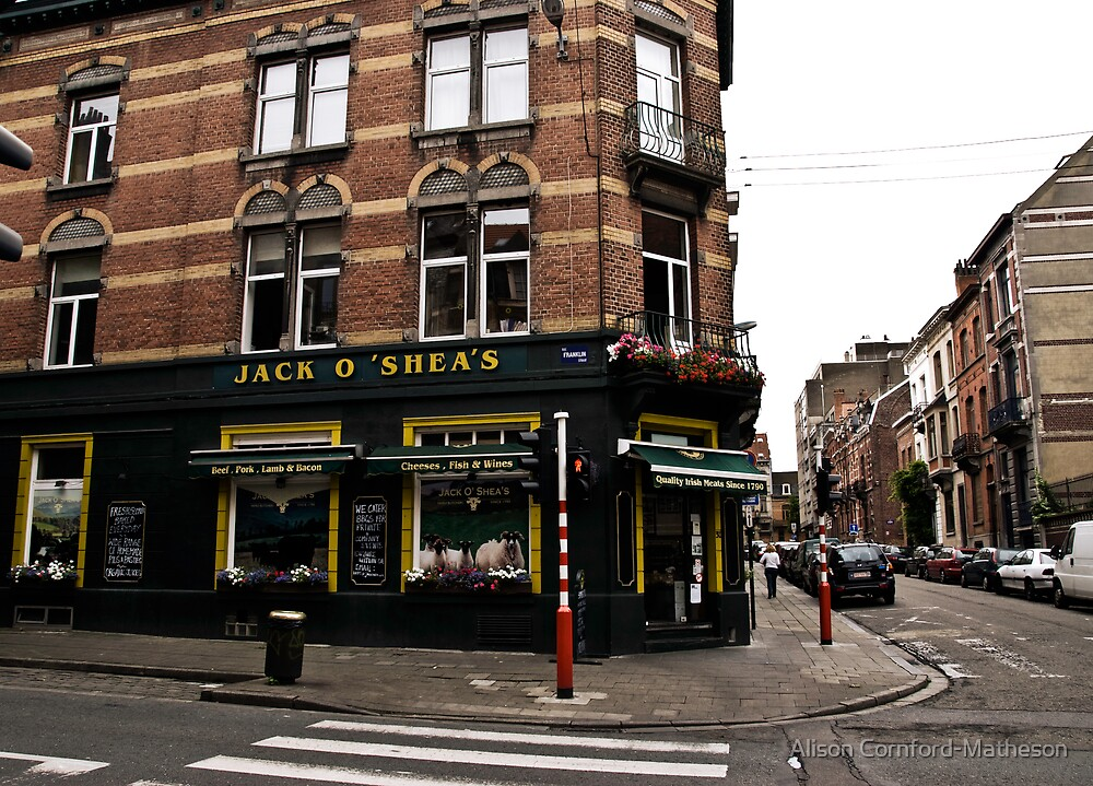 Jack O'Shea's - Brussels by Alison Cornford-Matheson