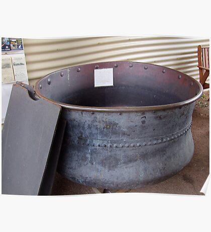 Large Copper Pot Poster