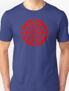 Sri Yantra Navy T-Shirt