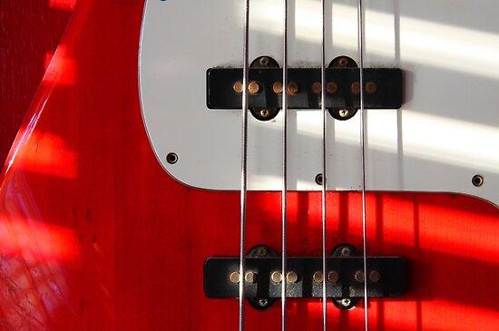 Red Guitar by exvista