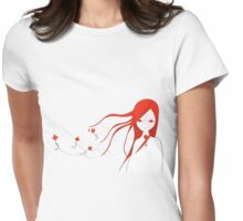 Cerf volants Womens Fitted T-Shirt
