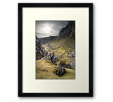 Ancient Pathway Framed Print