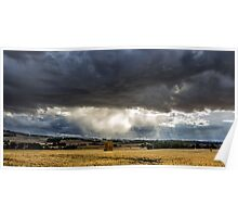 Storm closing in Poster