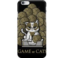 GAME OF CATS iPhone Case/Skin