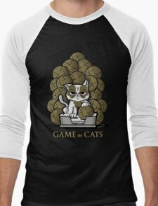 GAME OF CATS Men's Baseball ¾ T-Shirt