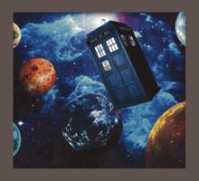 Doctor Who Space One Piece - Short Sleeve