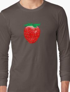 One Strawberry to Rule Them All Long Sleeve T-Shirt