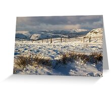 Higger to Mam Tor Greeting Card