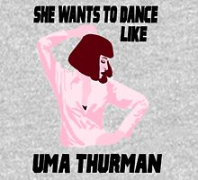 Dance Like Uma Thurman Mens V-Neck T-Shirt