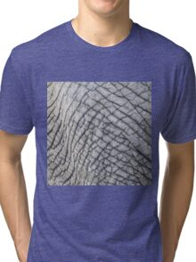 Elephant Skin - Natural Patterns and Textures Tri-blend T-Shirt