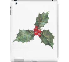 Festive Holly iPad Case/Skin