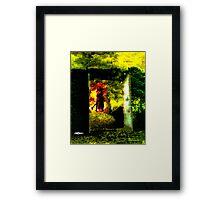 Spell of the Garden Framed Print
