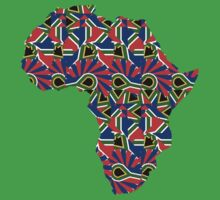Africa Pattern  Baby Tee