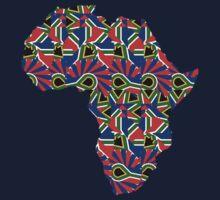 Africa Pattern  One Piece - Short Sleeve