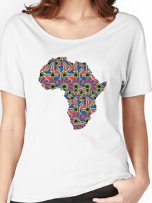 Africa Pattern  Women's Relaxed Fit T-Shirt