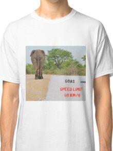 Elephant - Tourists go Slow Classic T-Shirt