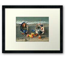 Sheringham Fishing Boats Framed Print