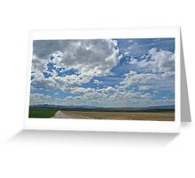 Big Sky Montana Greeting Card