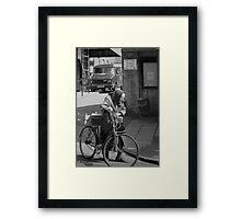 lean on me... Framed Print