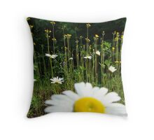 Ditch Weeds Throw Pillow