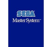 Sega Master System - Outlined Photographic Print