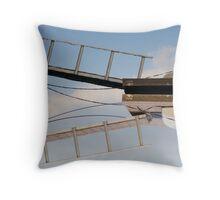 The Sky Dock II Throw Pillow