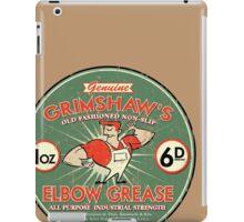 Elbow grease iPad Case/Skin