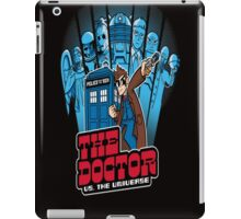 THE DOCTOR VS. THE UNIVERSE 10TH EDITION iPad Case/Skin