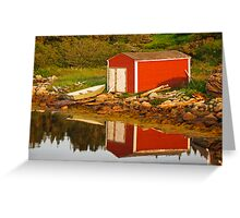 The Little Red Shed Greeting Card