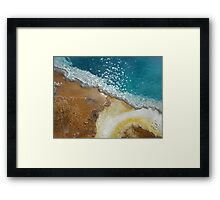 Colors from the Earth Framed Print