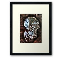 Glossy Gloom Framed Print