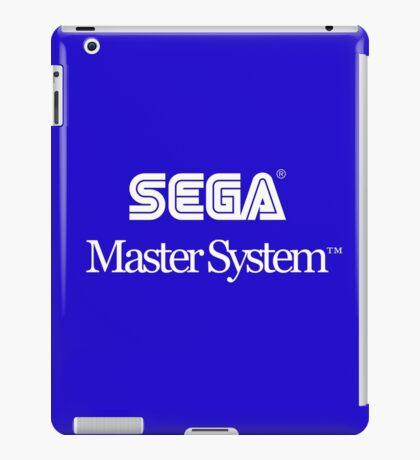 Sega Master System - White Text iPad Case/Skin