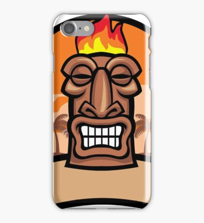 Tiki Vector iPhone Case/Skin