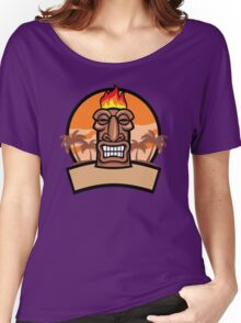 Tiki Vector Women's Relaxed Fit T-Shirt