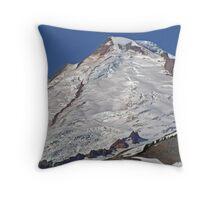 Mt Baker Glacier, Washington Throw Pillow
