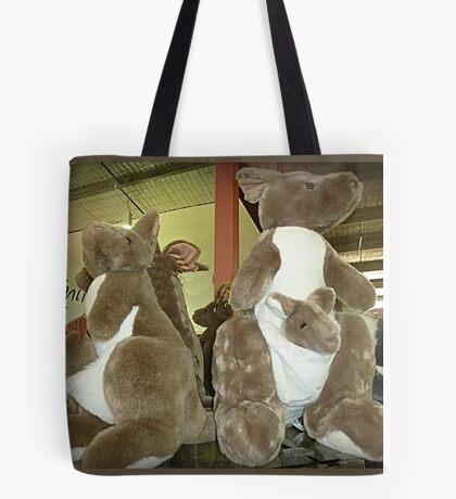 Kangaroos & Joeys Creswick Knitting Mills - Vic. Tote Bag