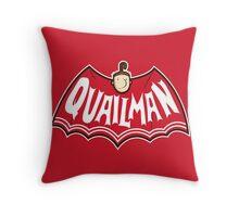Quailman Throw Pillow