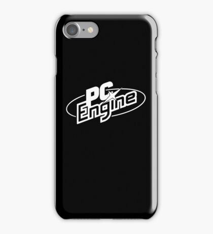 PC Engine - White iPhone Case/Skin