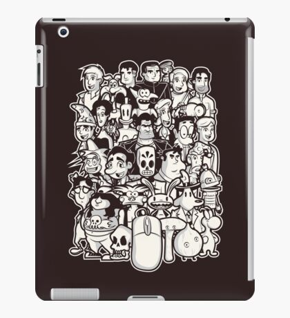 Point and Click iPad Case/Skin