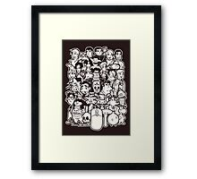 Point and Click Framed Print