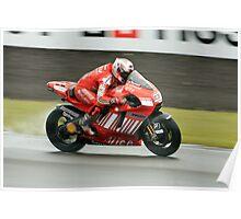 British Moto Grand Prix 12 Poster