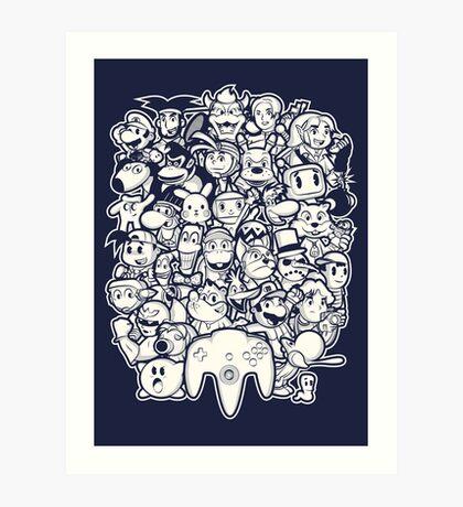 64Bit Art Print