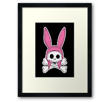 Taking it to my grave! Framed Print