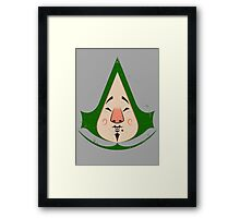 Tingly Assassin Framed Print